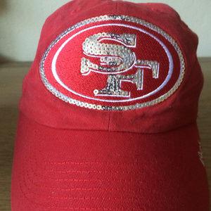 49ner bling womens hat